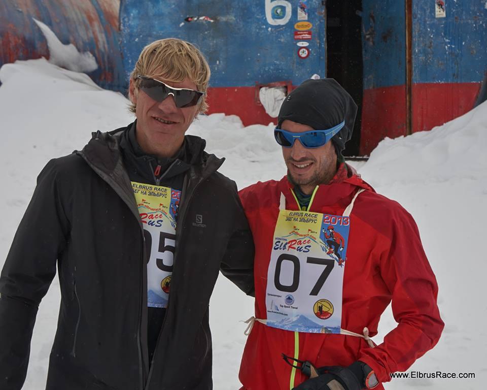 Vitaliy Shkel and Kilian Jornet