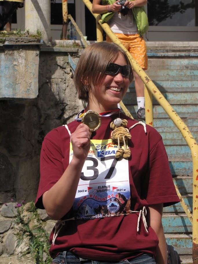 elbrus race 2009 - Masha Hitrikova