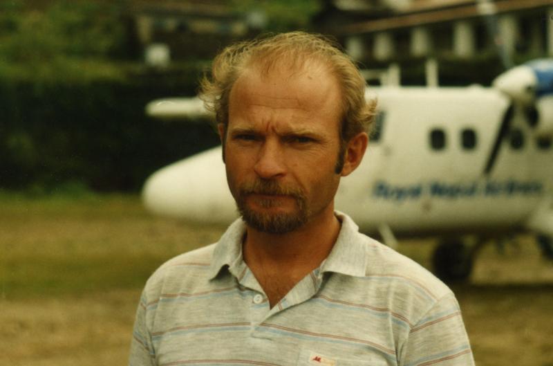 Владимир Балыбердин в Лукле