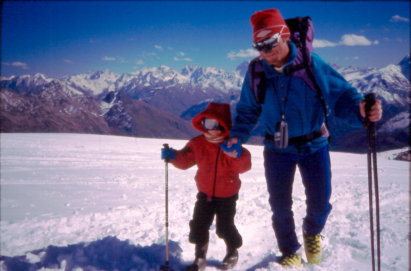 elbrus race 1990 balyberdenanddaughter1