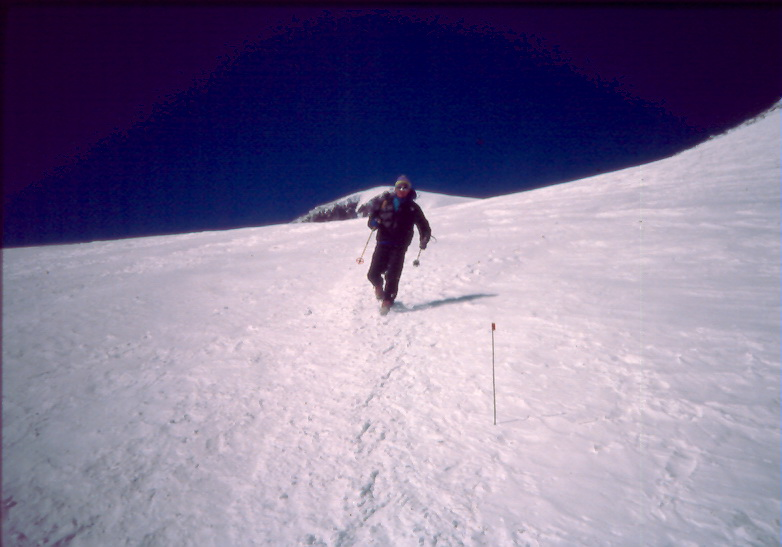 elbrus race 1990 boukreev after finish