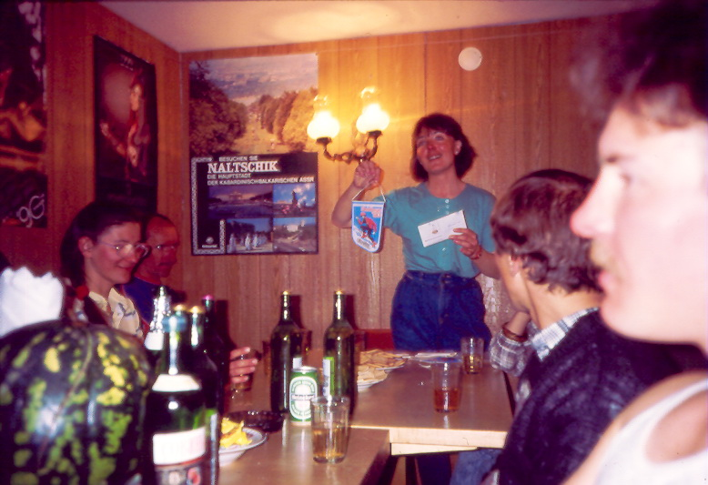 elbrus race 1990 awards ceremony